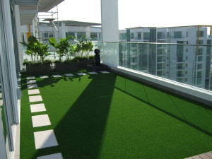 Synthetic Grass Services Lakeside, Turf Applications, Decks, Terraces, Patios