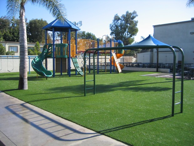 Synthetic Turf Playground Installation Lakeside, Artificial Grass Playground Company