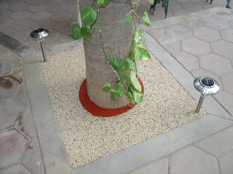 Rubber Tree Well Installation in Lakeside, Porous Tree Well
